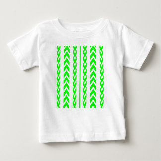 Green Tire Tread Baby T-Shirt