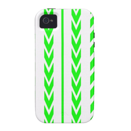 Green Tire Tread iPhone 4/4S Cover