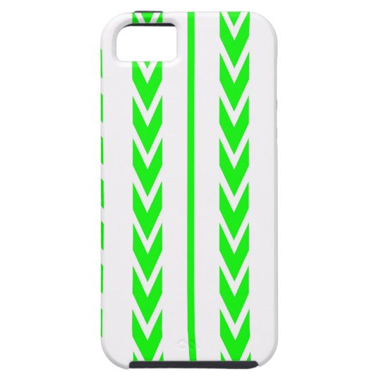 Green Tire Tread iPhone 5 Cases
