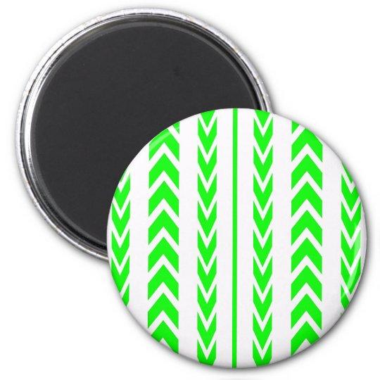 Green Tire Tread Magnet