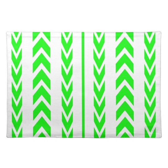 Green Tire Tread Placemat