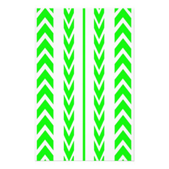 Green Tire Tread Stationery