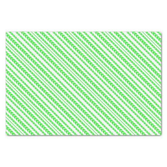 Green Tire Tread Tissue Paper