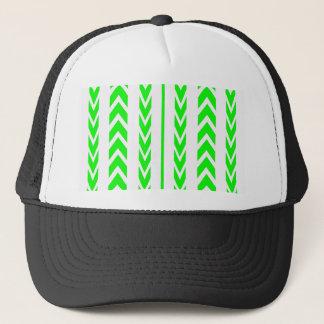 Green Tire Tread Trucker Hat