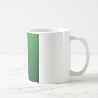 Green to Dark Green Horizontal Gradient Coffee Mug