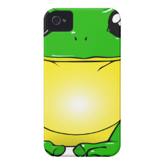Green Toad Cartoon iPhone 4 Cover