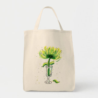 Green Tote Bag for the Environment