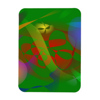 Green Trap Vinyl Magnets