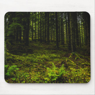 Green travelled Estonian Mouse Pad