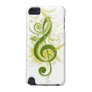 Green Treble Clef iPod Touch 5G Case