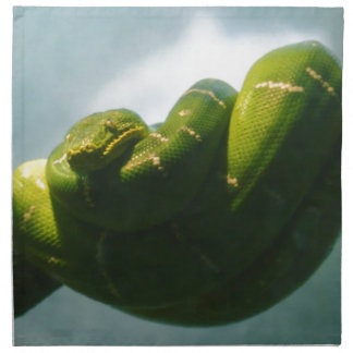 Green Tree Boa Napkin