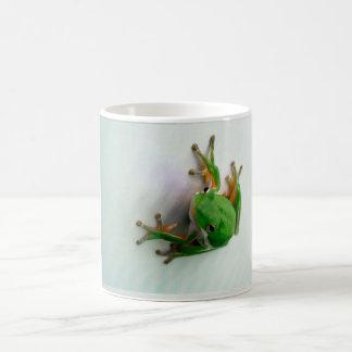 Green Tree Frog - choose stein, glass, or mug
