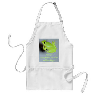 Green Tree Frog Image Standard Apron
