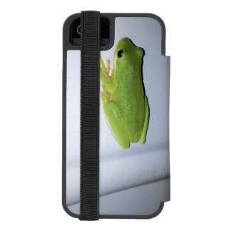 Green Tree Frog Incipio Watson™ iPhone 5 Wallet Case