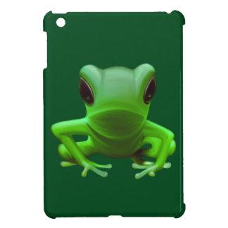 Green Tree Frog iPad Mini Cases