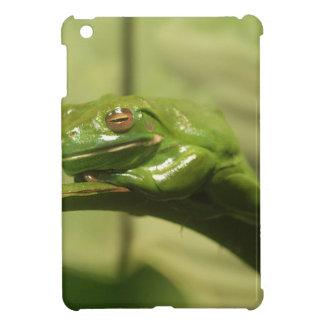 Green Tree Frog Case For The iPad Mini