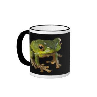 Green Tree Frog Coffee Mug