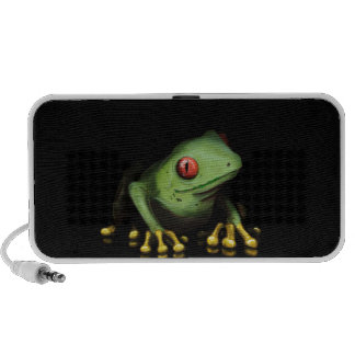 Green Tree Frog Products Customize iPod Speaker