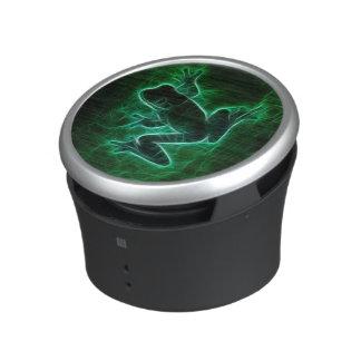 Green Tree Frog Silhouette Speaker