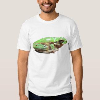 Green Tree Frog Tee Shirt
