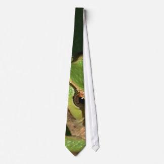 Green Tree Frog Tie