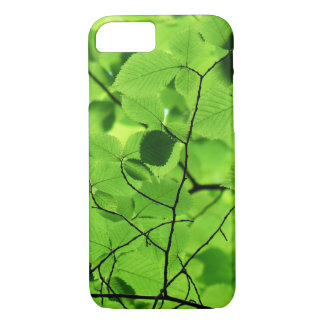 Green Tree Leaves iPhone 7 Case