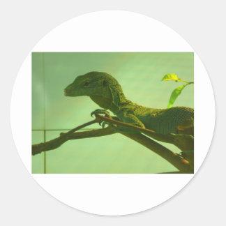 green tree monitor sticker
