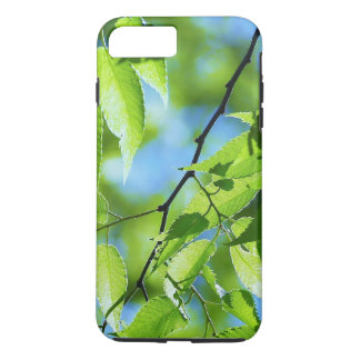 Green Tree Spring Leaves iPhone 7 Plus Case