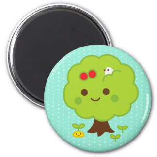 Green Tree Sprouts Magnet