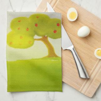 green trees American MoJo Kitchen Towels