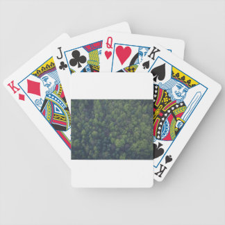 Green Trees Bicycle Playing Cards