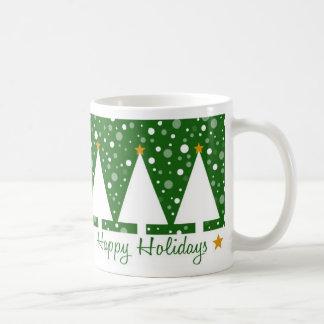 Green Trees Holidays - Mug