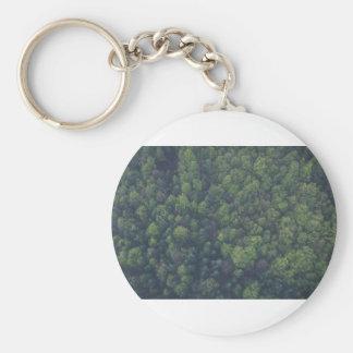 Green Trees Key Ring