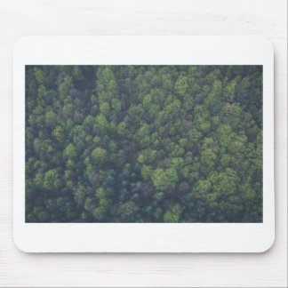 Green Trees Mouse Pad