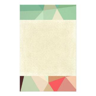 green,trendy,graphic,design,pattern,modern,chic,fu stationery