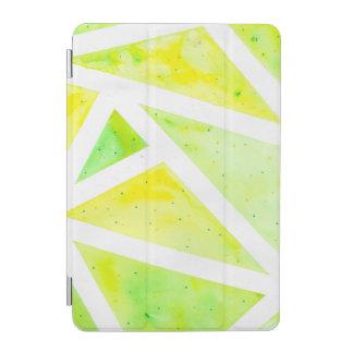 Green Triangle iPad Mini Cover