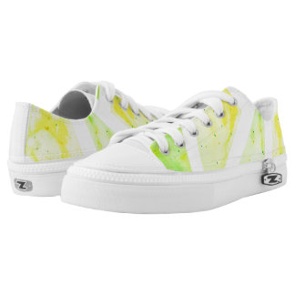 Green Triangle Low Tops