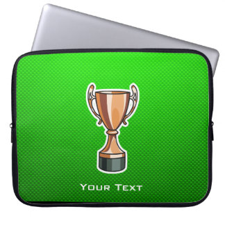 Green Trophy Laptop Sleeve
