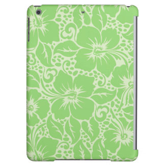 Green tropical floral