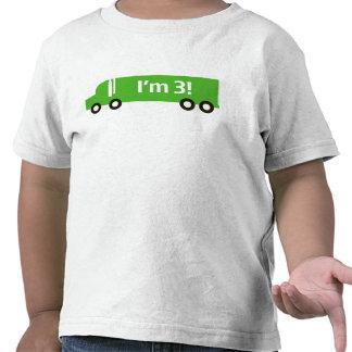 Green Truck Third Birthday Tee