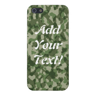 Green Tundra Camo iPhone 5/5S Cases