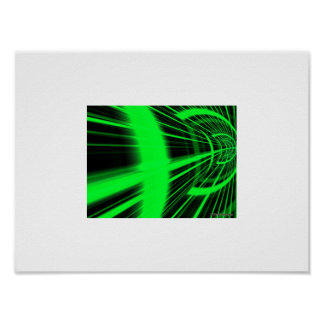 Green Tunnel Poster