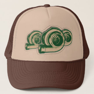 Green Turbos Trucker Hat