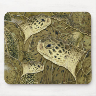 Green Turtle Mouse Pad
