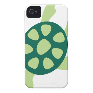 Green Turtle Swimming iPhone 4 Cover