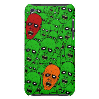Green Undead Zombie Heads iPod Touch Case