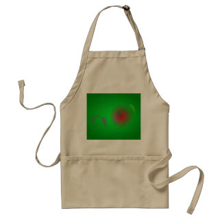 Green Universe and a Red sun Apron