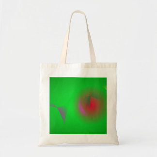 Green Universe and a Red sun Tote Bag