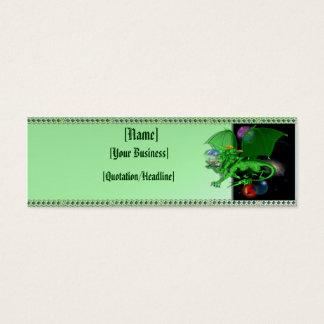 Green Universe Dragon profilecard_skinny_horizo... Mini Business Card