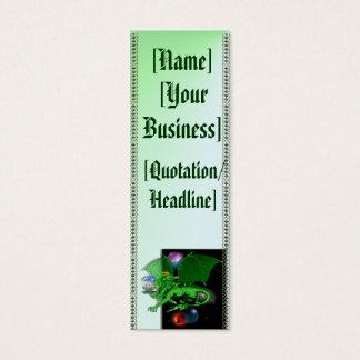 Green Universe Dragon profilecard_skinny_vertic... Mini Business Card